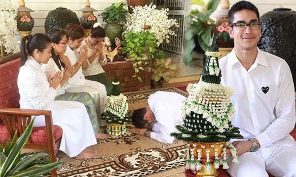ภาพประทับใจ ณเดชน์ คูกิมิยะ ขอขมาลาบวชต่อครอบครัว