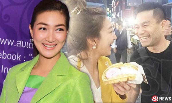 เปิดภาพ!! แพนเค้ก จัดทริปควง พี่หมี เติมรักแดนกิมจิ