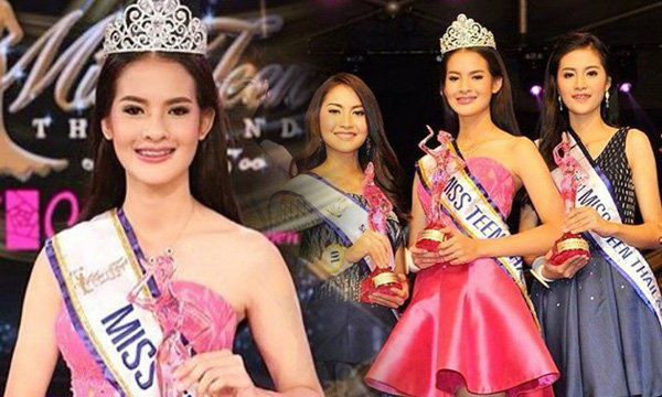 น้องครีม วริศรา สาวอายุ 15 คว้ามงกุฎ Miss Teen Thailand 2015