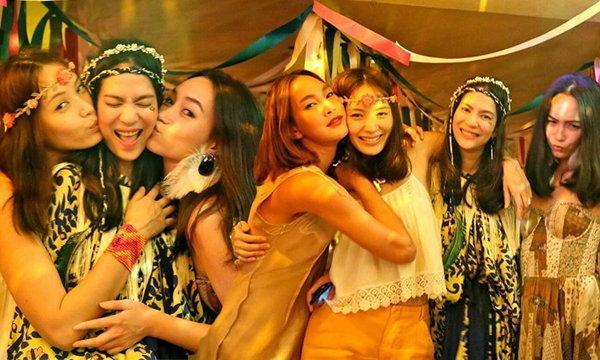 ปาร์ตี้สละโสด จี๊ด แสงทอง รวมตัวเพื่อนนางแบบ สนุกสุดเหวี่ยง