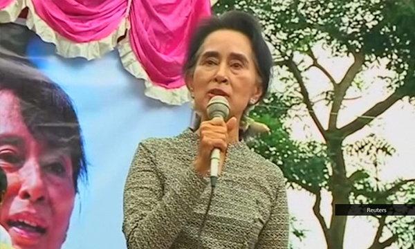 """""""อองซาน ซูจี"""" ลั่น! หากชนะเลือกตั้ง จะเป็นยิ่งกว่าประธานาธิบดี"""