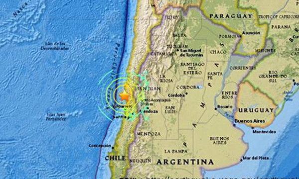 ชิลีเกิดแผ่นดินไหวขนาด 8.3 เตือนภัยสึนามิ สั่งอพยพคนแล้ว