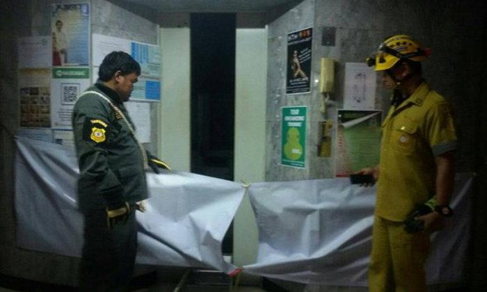 หัวหน้ารปภ.พลัดตกช่องลิฟต์มหาวิทยาลัยดัง ดับสยองคาที่