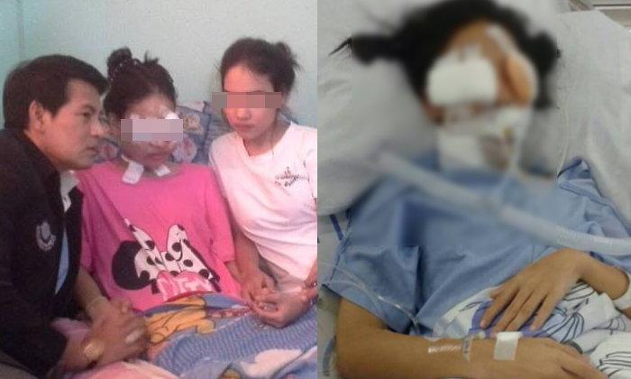 จับได้แล้ว 2 คนร้ายยิงสาว 19 ตาบอด อ้างนึกว่าเป็นคู่อริ