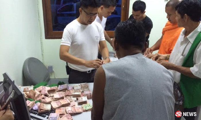 หลวงตามรณภาพบนรถไฟตกราง ตะลึงพบเงิน 9 แสนในย่าม