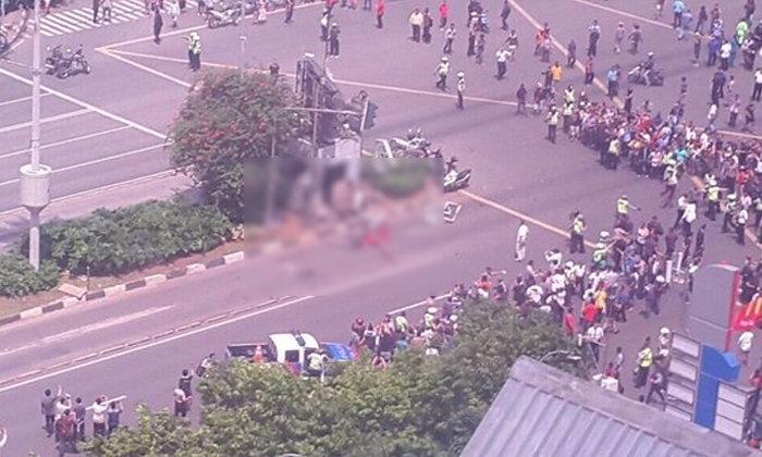 ด่วน เกิดเหตุระเบิดและกราดยิงกลางกรุงจาการ์ตา อินโดฯ