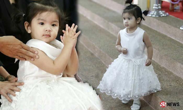 น้องมะลิ นางฟ้าตัวน้อยสวมชุดขาวส่งพ่อปอ ทฤษฎี สู่สวรรค์