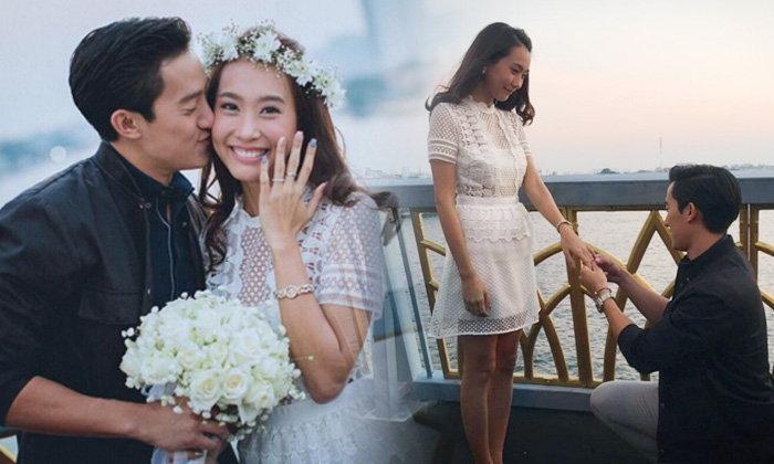 เซอร์ไพร์ส! ขอแต่งงาน โบ ธัญญะสุภางค์ บนสะพานพระราม 8