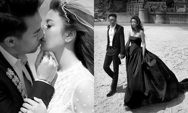 แฟชั่นชุดแต่งงานเอมมี่ มรกต หวานหยดไฮโซเจมส์ ณ ฝรั่งเศส