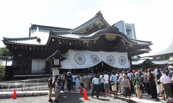 """เกิดเหตุระเบิดห้องน้ำ """"ศาลเจ้ายาสุกุนิ"""" ประเทศญี่ปุ่น"""