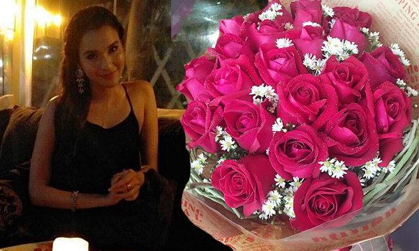 ปาร์ตี้วันเกิด หยาดทิพย์ ราชปาล เต็มไปด้วยช่อดอกกุหลาบ