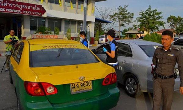 โดนจับแล้ว โจรแท็กซี่ปล้นฉุดผัวเมียเมียนมา แจ้งข้อหาหนัก