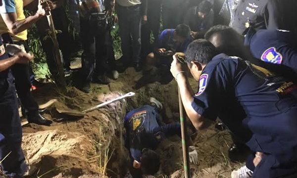 พบศพหนุ่มออสซี่ถูกฆ่าฝังดิน หลังถูกอุ้มหายที่พัทยา