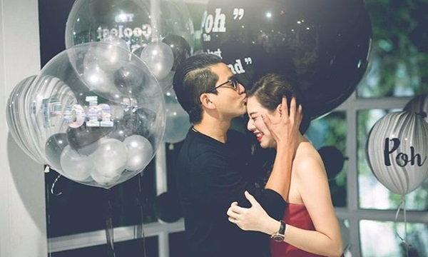 ป๋อ ให้จูบฟอดใหญ่ เอ๋จัดเซอร์ไพรส์วันเกิด  41 ปี