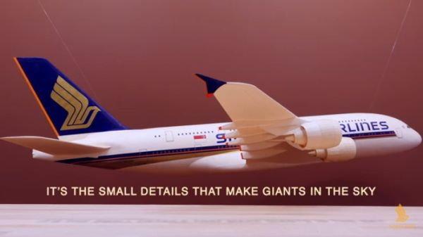 """ยอดวิวกว่า5 ล้าน กับแคมเปญล่าสุดของสิงคโปร์แอร์ไลน์ส """"At Singapore Airlines,no detail is too small"""""""