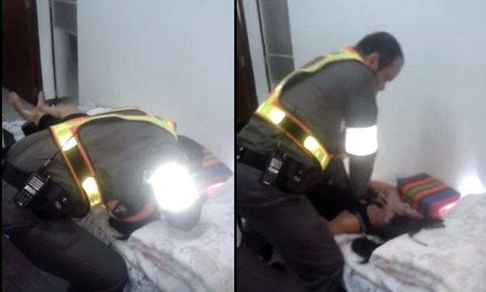 ยกเป็นฮีโร่! ตำรวจจราจรปั๊มหัวใจช่วยชีวิต สาวผูกคอตายรอดปาฏิหาริย์