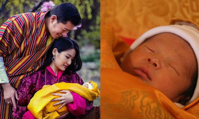 เผยภาพเต็ม เจ้าชายน้อยแห่งภูฏาน โอรสกษัตริย์จิกมี