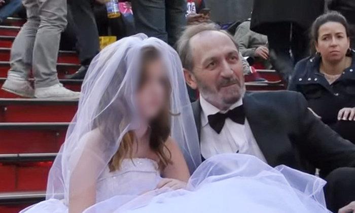 สังคมต้องช็อก! ชายวัย 65 แต่งงานกับเด็กหญิงอายุ 12