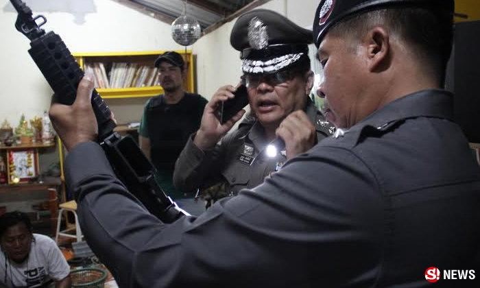 ตำรวจยิงต่อสู้พ่อค้าปืน กระสุนทะลุเสื้อเกราะสาหัส