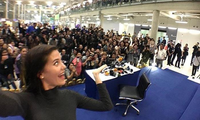 มารีญา กลับถึงไทยแล้ว เปิดใจ อึ้งคำถามเรื่อง Social Movement