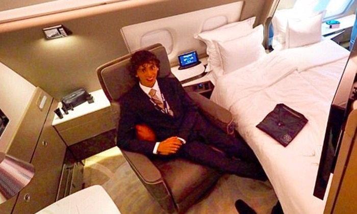 กินหรูนอนสบาย สายการบินดังเปิดตัวชั้นเฟิร์สคลาส ระดับโรงแรม 5 ดาว