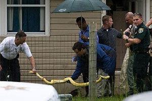 สลด! หนูน้อย 2 ขวบถูกงูเหลือม 12 ฟุตรัดตายคาบ้าน