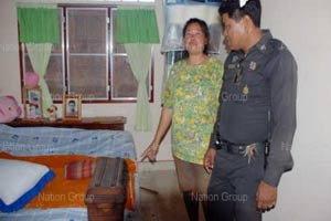 จับเมียตำรวจมัดมือขังห้องน้ำก่อนลักทรัพย์