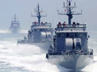 เรือรบเกาหลีเหนือยิงปะทะเรือรบเกาหลีใต้