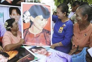 ผู้สนับสนุนเริ่มมีหวังหลัง โอบามา พูดเรื่อง ซู จี กับพม่า