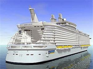 เรือสำราญใหญ่ที่สุดในโลกเตรียมล่องเที่ยวแรก 5 ธ.ค.นี้