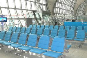 ท่าอากาศยานสุวรรณภูมิปรับโฉมเก้าอี้ภายในอาคารผู้โดยสารใหม่