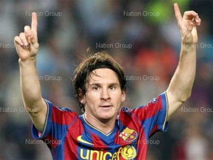 เมสซี่ คว้ารางวัลนักฟุตบอลยอดเยี่ยมแห่งปีของยุโรป