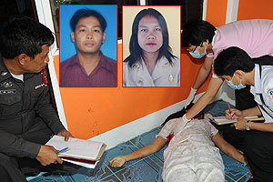 คลั่งไล่ยิงเมียเก่าเซ่นรักร้าวดับ 2 ศพ