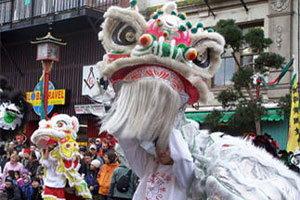 ชาวจีนในแคนาดาฉลองตรุษจีน