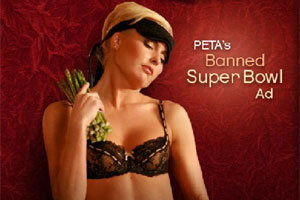 โฆษณา พีต้า รณรงค์รักผักถูกแบน! อ้างอนาจารเกินพิกัด