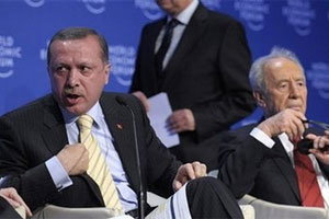 ชาวตุรกีหนุนหลังนายกฯ กล้าต่อกรประธานาธิบดีอิสราเอล
