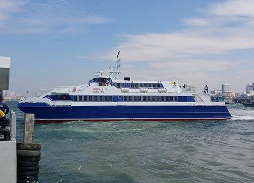เรือเฟอร์รี่พัทยาไปหัวหินบริการฟรี1-15ม.ค.