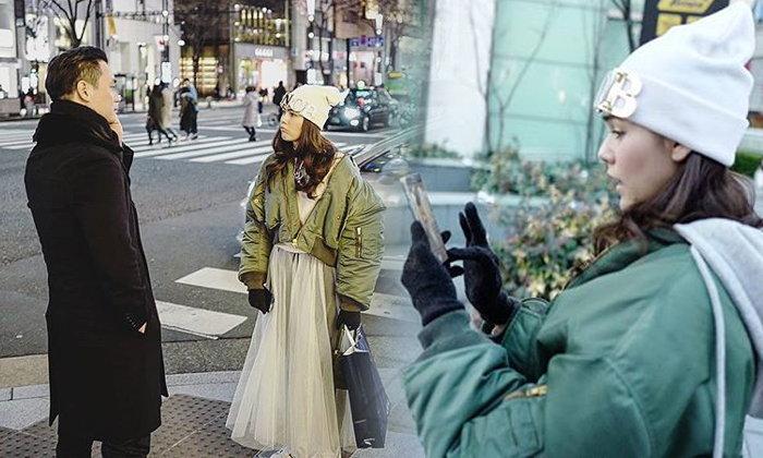 ชมพู่ น็อต จัดทริปตะลุยโตเกียว เผยภาพน่ารักงอนสามีแก้มป่อง