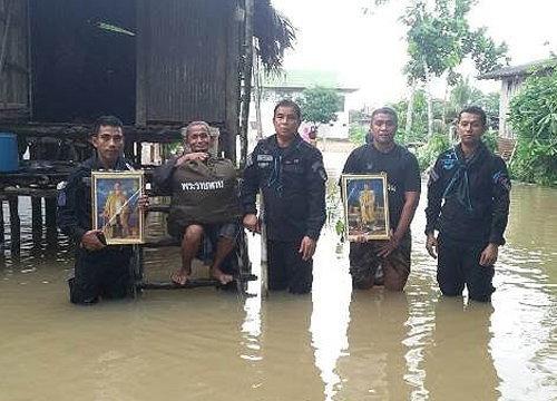 มทภ.4สั่งช่วยผู้ประสบภัยน้ำท่วมชายแดนใต้