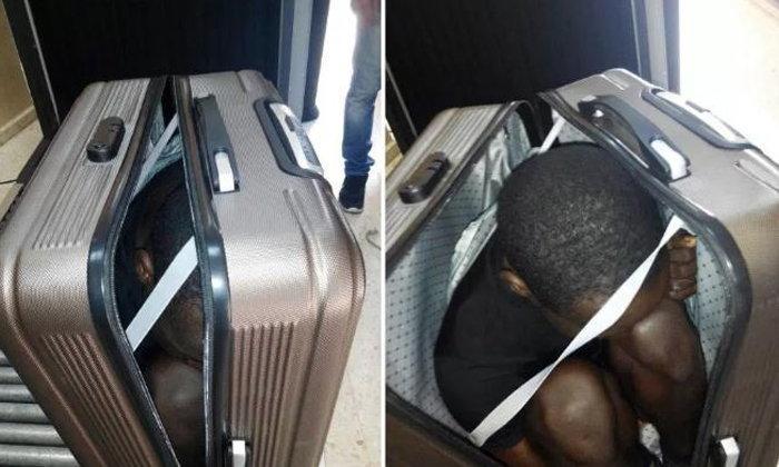 ตร.สเปนจับกุมหนุ่มวัยรุ่นลี้ภัยชาวแอฟริกัน หลังพบซ่อนตัวในกระเป๋าเดินทาง