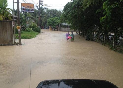 เมืองกระบี่น้ำลดสู่ภาวะปกติชาวบ้านเร่งฟื้นฟูที่อยู่อาศัย