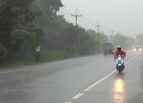 อุตุฯเผยเหนืออีสานตอ.กลางกทม.ฝนฟ้าคะนองลมแรง