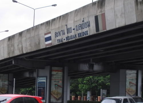 ปิดซ่อมสะพานไทยเบลเยี่ยมขาออกวันแรก