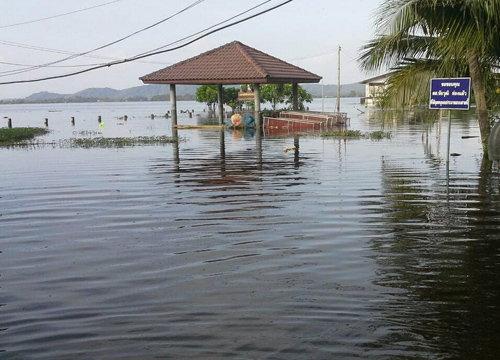 น้ำท่วม5อ.ริมทะเลสาบสงขลาภาพรวมดีขึ้นแต่ยังวิกฤติ