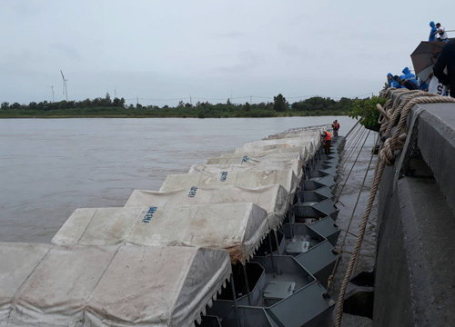 น้ำท่วมลุ่มปากพนังเมืองคอนดีขึ้นแม้ยังจมอยู่
