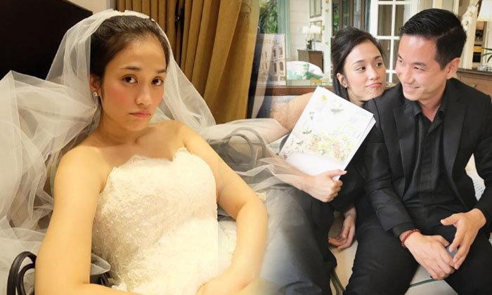 ส่อง ครีม เปรมสินี ว่าที่เจ้าสาวคนต่อไปควงแขนแฟนลองชุดแต่งงาน