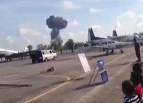 เครื่องบินกริพเพนตกขณะโชว์วันเด็กหาดใหญ่-นักบินดับ