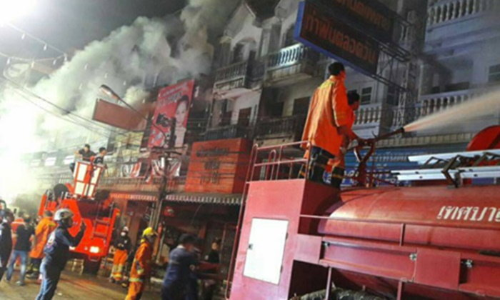 ไฟไหม้บ้านไม้หลังเทศบาลแก่งคอยวอด 20 หลัง
