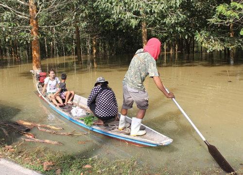 สุราษฎร์ยังมีพื้นที่วิกฤติน้ำท่วมขังใน5อำเภอ