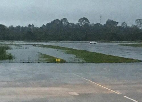ฝนใหม่เติมน้ำสะสมลุ่มปากพนังเมืองคอน100ล้านลบ.ม.